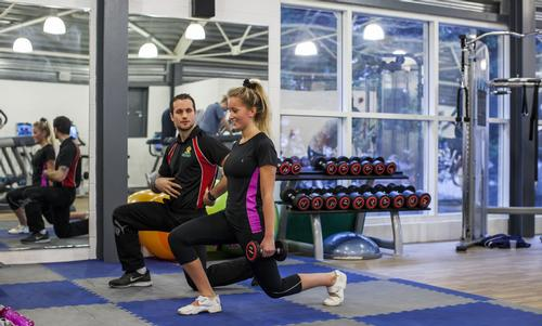 Precor's poll of 500 women found women have negative perceptions of weights