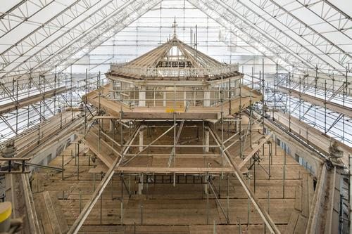Restoration work at the Temperate House at the Royal Botanic Gardens, Kew / © Board of Trustees, RBG Kew