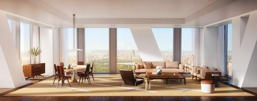 53W53's interiors have been designed by New York interior architect Thierry Despont / Hayes Davidson