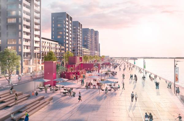 Barking Riverside will see 10,800 homes built on London's biggest brownfield site by the River Thames