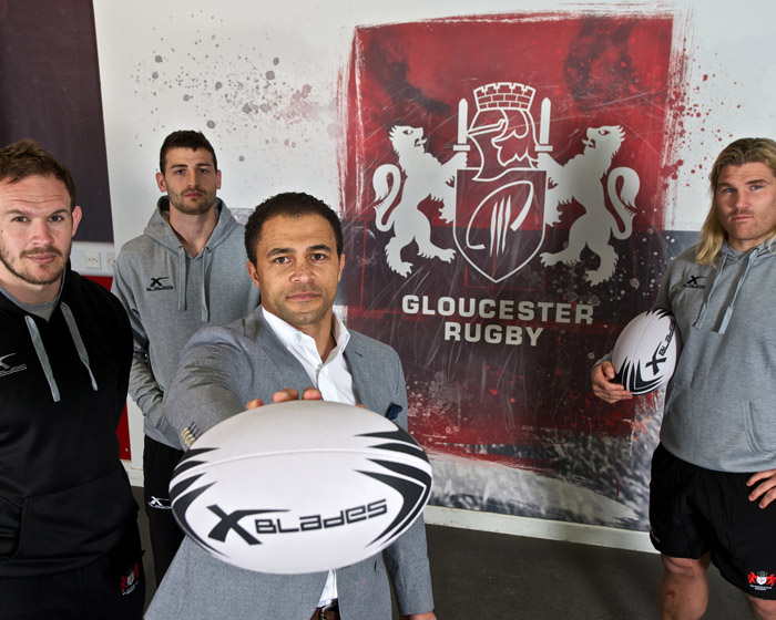 Gloucester Rugby chooses XBlades to supply kit