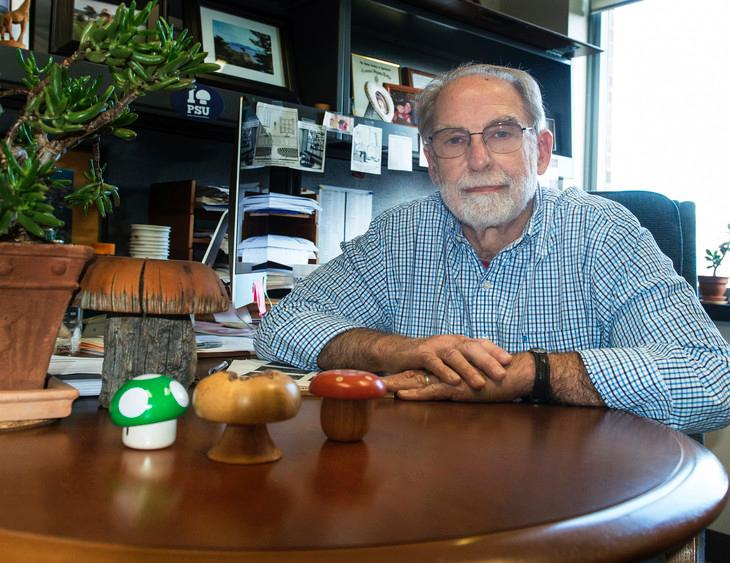 Robert Beelman, professor emeritus of food science and director of the Penn State Center for Plant and Mushroom Products for Health, says that the porcini mushroom has the highest level of the antioxidants / Penn State