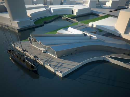 Glasgow's new GBP74m attraction has been designed by Zaha Hadid