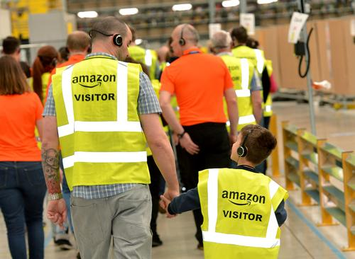 Amazon opening up UK distribution centre for guided tours
