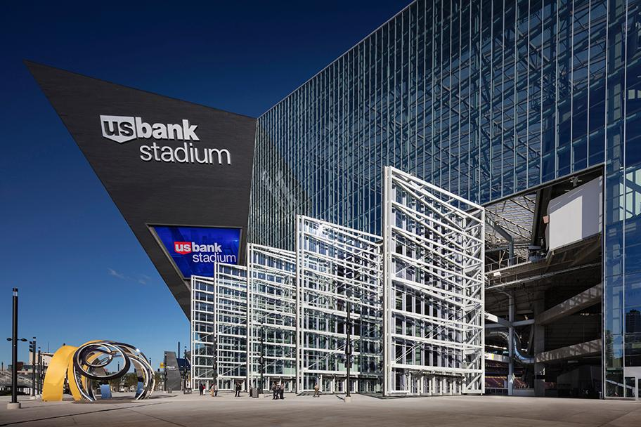 The U.S. Bank Stadium in Minneapolis by HKS Architects was the winner of the Sport - Completed Buildings category / WAF