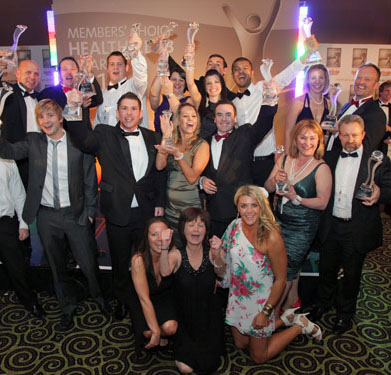 First ever Health Club Awards winners revealed