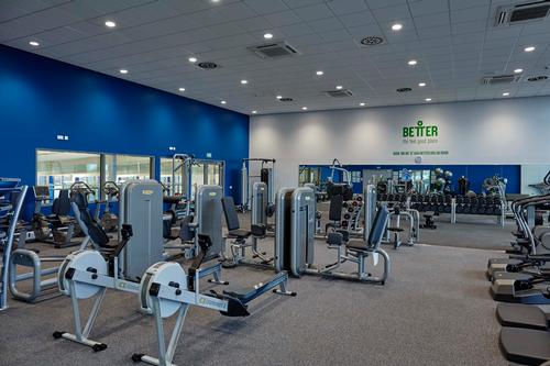 The leisure centre 39 s 70 station gym features equipment from technogym for Gyms in manchester city centre with swimming pools