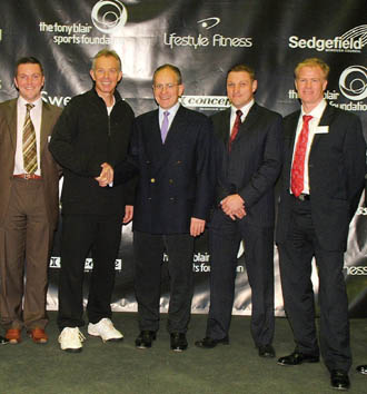 Tony Blair launches sports foundation