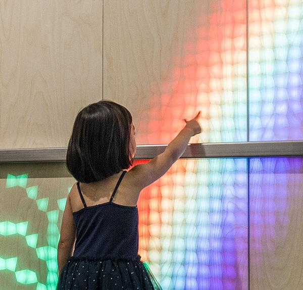 Eness installed its first Lumes panel inside a children's hospital
