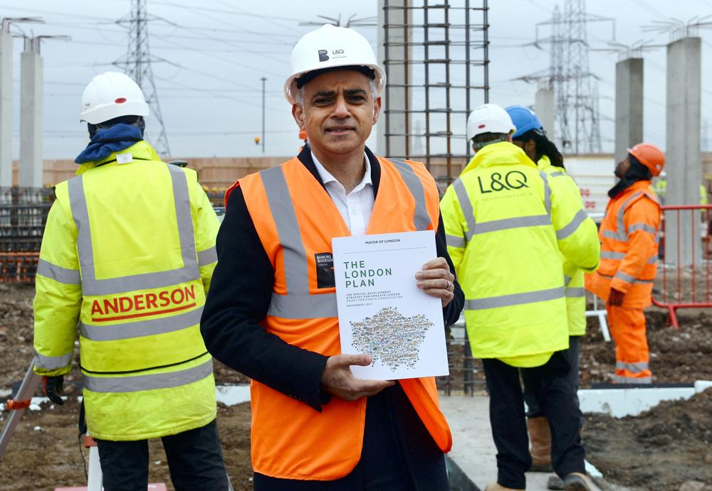The 524-page London Plan sets out Khan's vision for urban development, and offers firm guidelines for architects and developers / Stefan Rousseau/PA Wire/PA Images