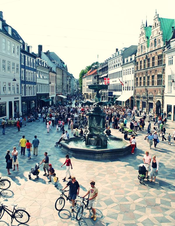 Copenhagen was rated the world's most liveable city in 2016