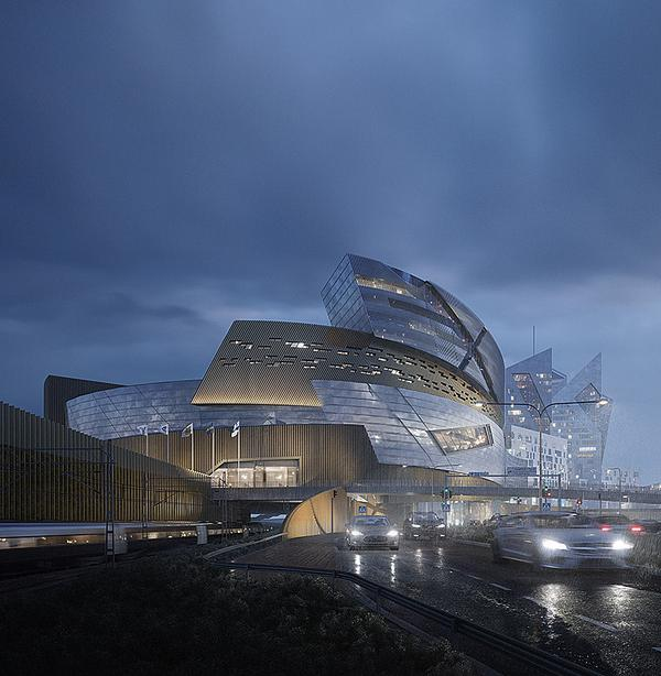 Tampere Central Deck and Arena / Image: Tomorrow AB