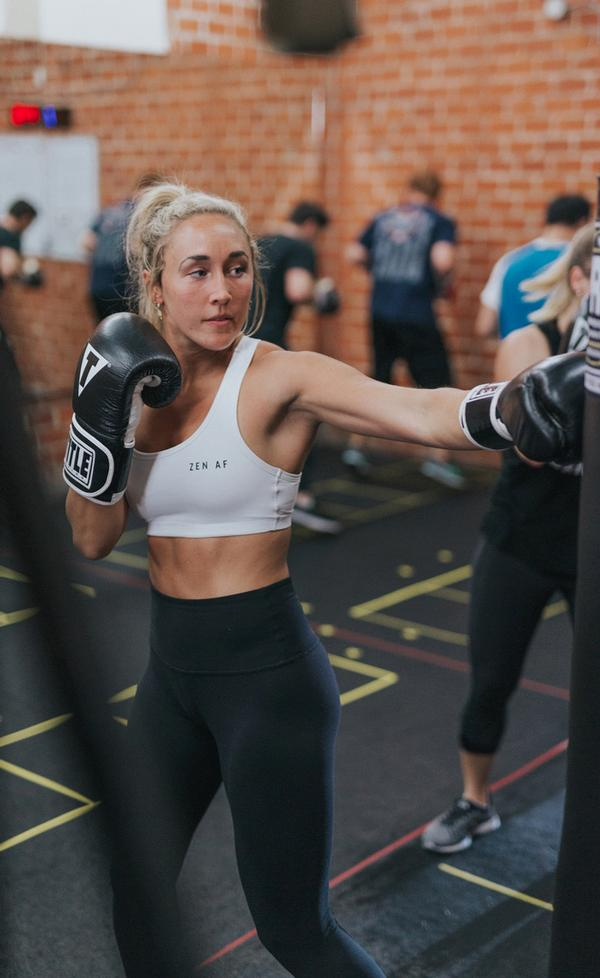 Prevail Boxing fitness training focuses on teaching 'the art of boxing'.