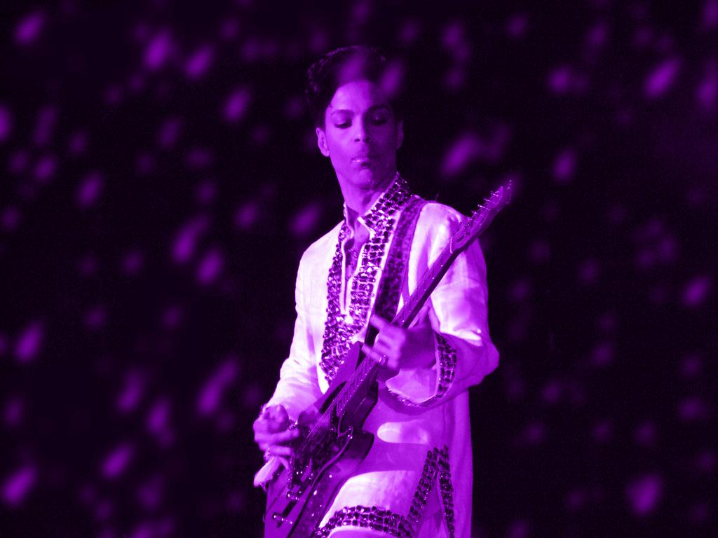 Pantone said musical icon Prince used the purple colour as a 'personal expression of individuality'