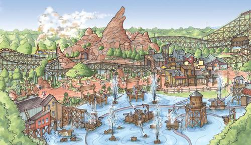 The US$118m (£76m, €88.8m) Grand Texas Theme Park opens in Q3 of 2015 / Grand Texas Theme Park