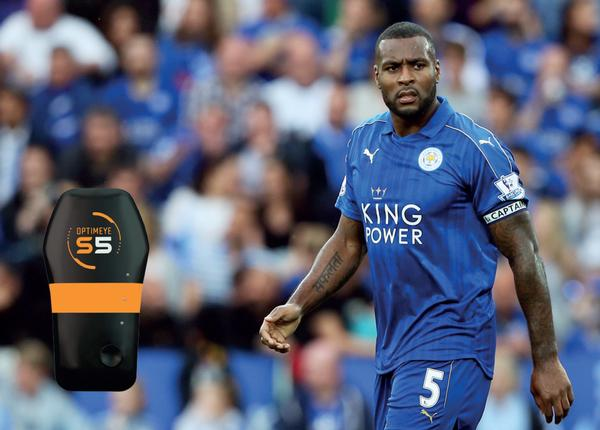 Leicester City captain Wes Morgan played the full 90 minutes in each game
