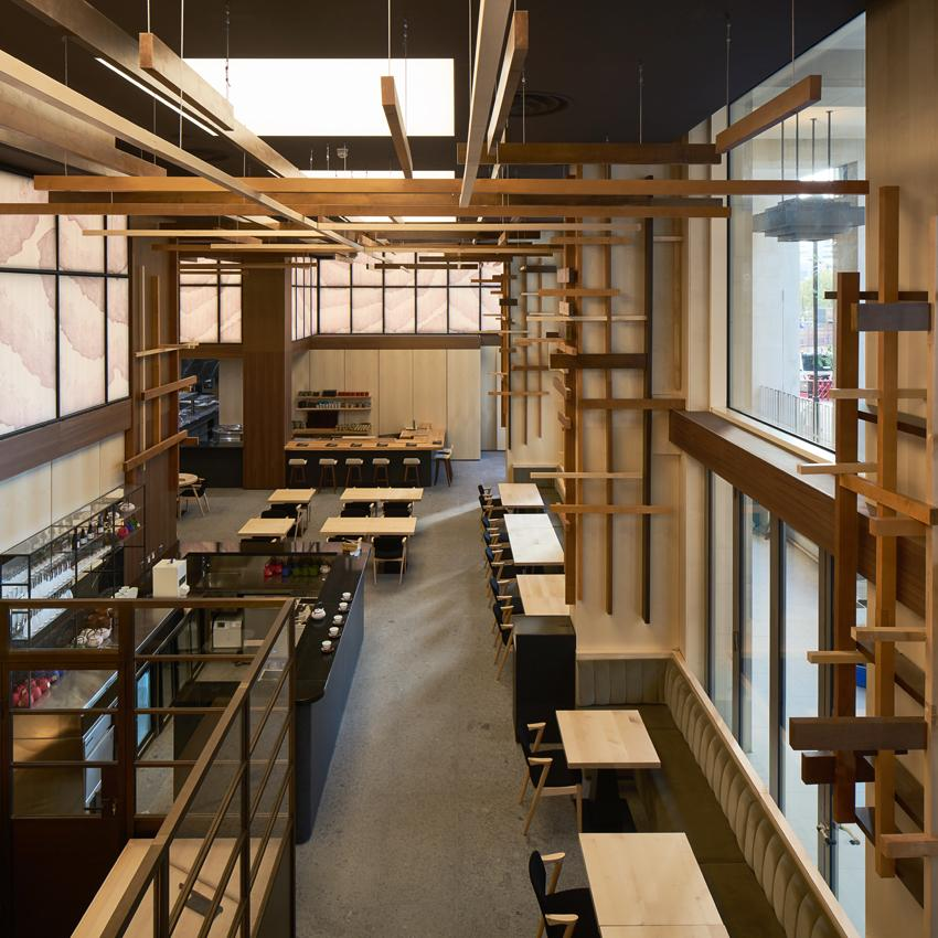 "Located on The Strand, Yen invites diners ""to step off the busy street into an all-encompassing Japanese experience"" created by the design team / Yen"