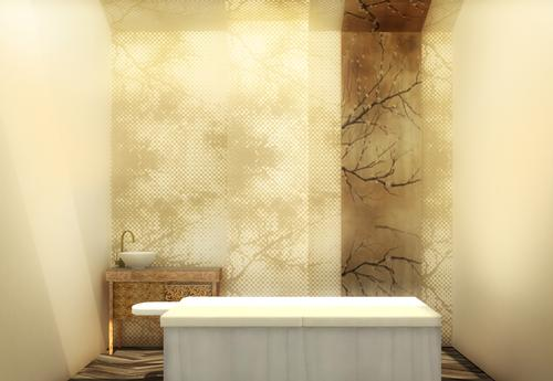 The club includes a holistic spa, beauty therapies by Aromatherapy Associates and a state-of-the-art alternative medicine clinic / Melt Design Hub