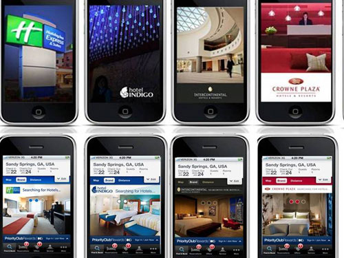 IHG launches iPhone booking applications