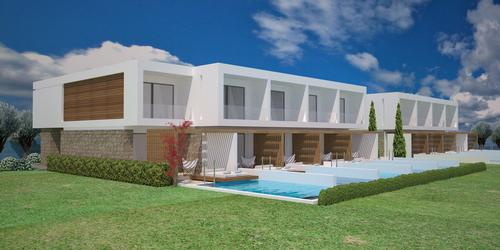 Designed by Dimitris Melenos & Partners, the 266-bedroom Gennadi Grand Resort will be part of Lindos Hotel Group