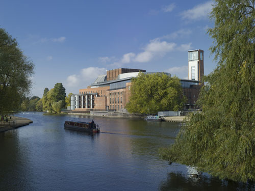 The new Royal Shakespeare Theatre