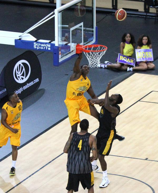 The London Lions was the first sports team to make the Copper Box its home / PIC: ©oneshotimages