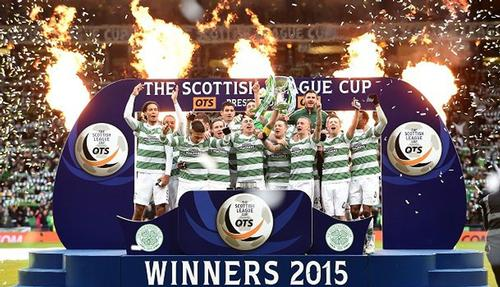 Celtic won the last League Cup before the format reshuffle / SPFL