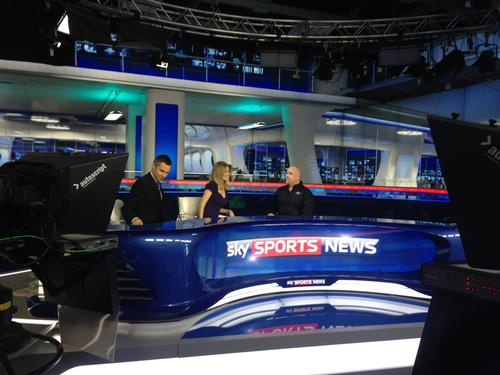 Jan Spaticchia appeared on Sky Sports News earlier today to promote National Fitness Day.