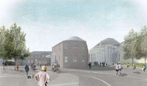More public space will be created as part of the masterplan