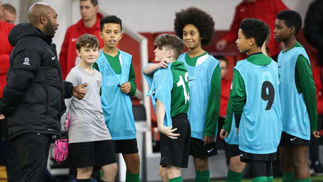 The move aims to level the playing field for England coaching candidates from black, Asian and minority ethnic backgrounds / FA