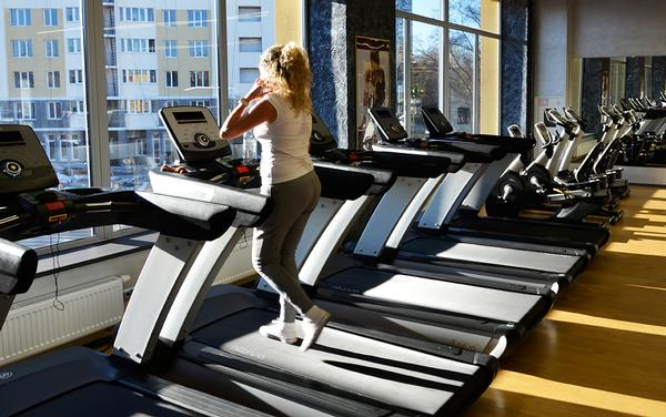 The range includes treadmills, upright and recumbent bikes and ellipticals