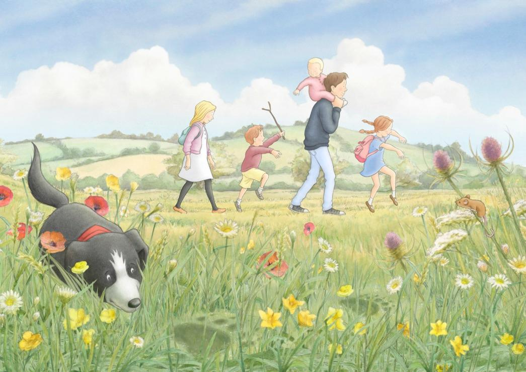 We're Going on a Bear Hunt was originally a 1989 children's picture book written by Michael Rosen  / Visit Isle of Wight