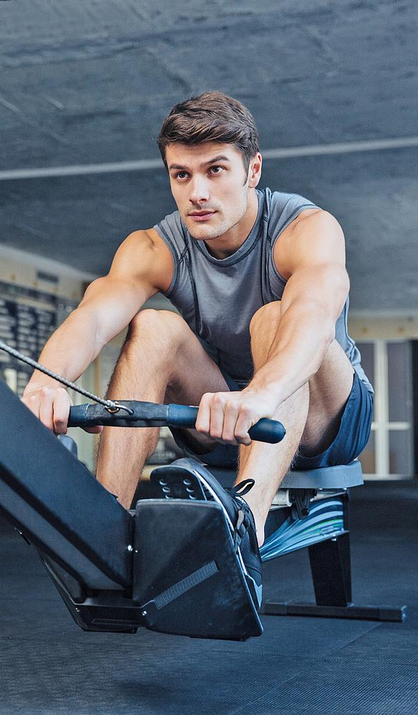 The rowing machine eliminates 