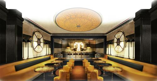 Gold takes center-stage in the restaurant, which will offer fine dining menu of classic and innovative Chinese cuisine / Six Senses