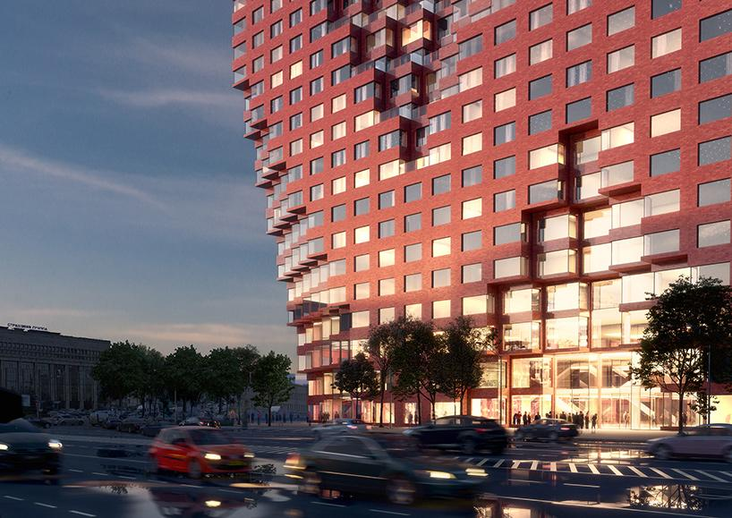 Silhouette will consist of luxury apartments of various configurations and sizes, a sports centre, flexible workspaces, an events space and a public sky deck / Antonio Luca Coco, Davide Calabro, Pavlos Ventouris and Tomaso Maschietti