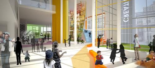 The expansion is hoped to be complete by January 2017 / Minnesota Children's Museum