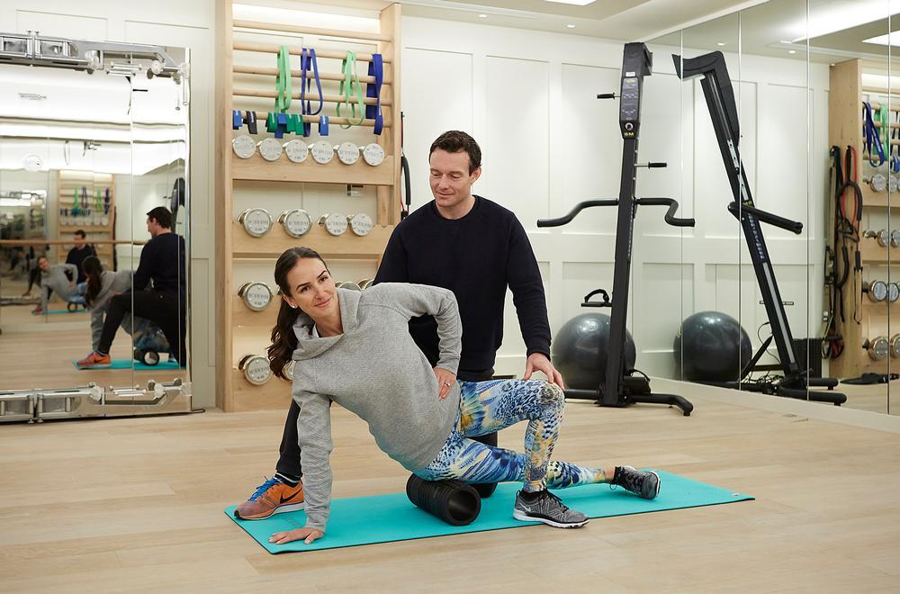 The deal is an extension of an existing partnership, which has seen Bodyism founder James Duigan (pictured) lead fitness sessions on request at The Lanesborough / Bodyism
