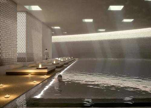 The resort will feature 10,000sq m of spa and wellness facilities
