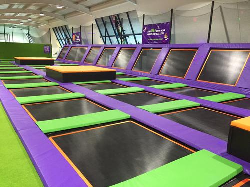 truGym team make leap into trampoline sector