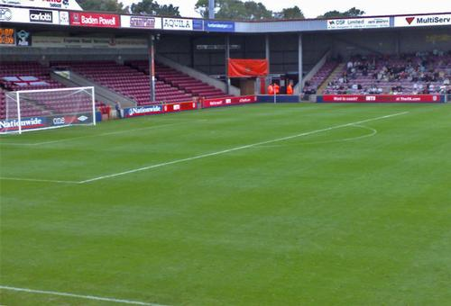The 9,000-capacity Glanford Park opened in 1988