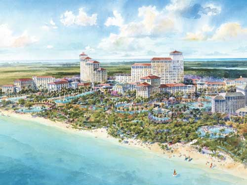 The Baha Mar resort development is due for completion in late 2014