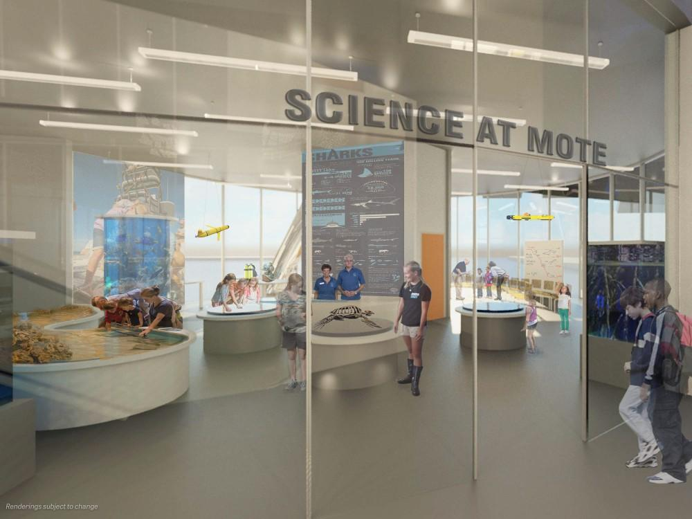 Science is an intergral part of the aquarium plans, say its creators