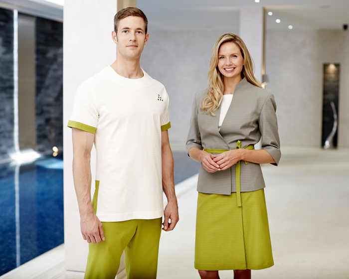 Fashionizer creates spa uniforms for Six Senses