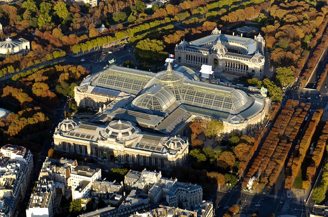 The Grand Palais is one of Paris's most distinctive historic landmarks / LAN