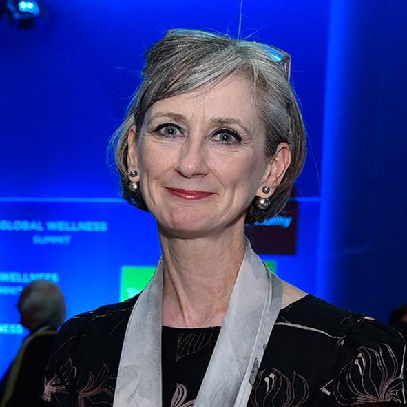 Sheila McCann is a key figure in the global spa industry / ©GWS15