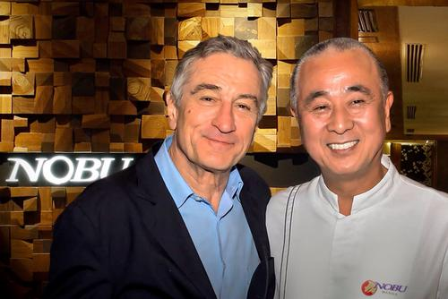 Nobu Hospitality is founded by partners chef Nobu Matsuhisa, actor Robert De Niro and Hollywood producer Meir Teper / City of Dreams