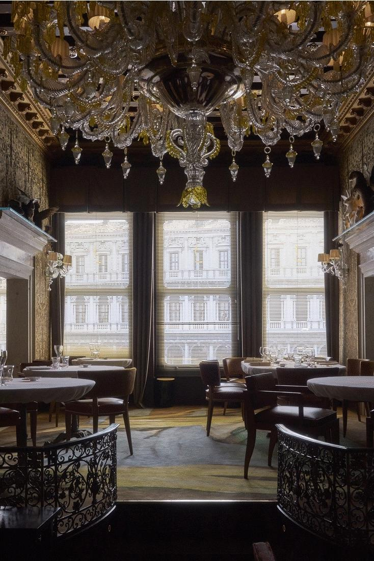 The Michelin Starred Quadri Owned By Restaurateurs Alajmo Family Since 2010 Has