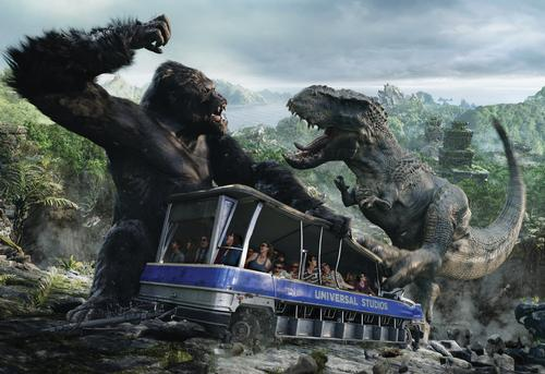 Comcast confirms King Kong for Universal Orlando