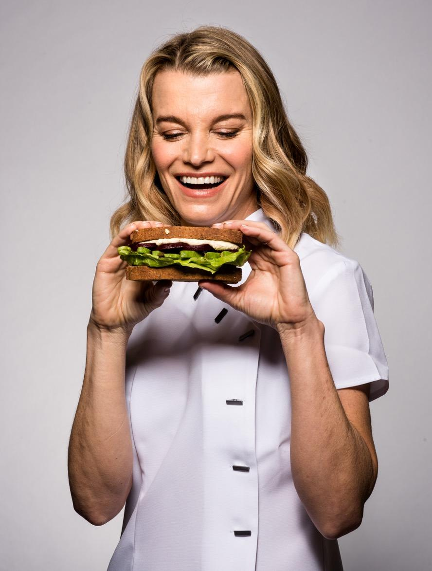 Healthy-eating guru and future Countess of Sandwich, Julie Montagu, is involved with the innovative pop-up
