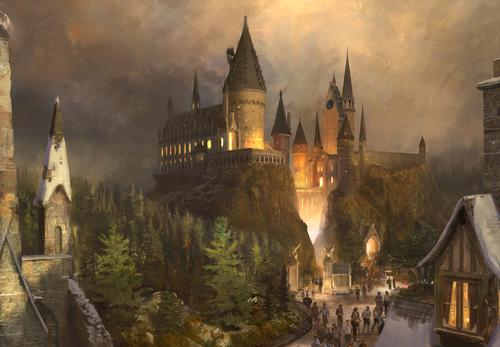 With Hogwarts Castle serving as a focal point for the new Potter attraction, visitors will be offered an immersive world, faithfully recreated as JK Rowling imagined it